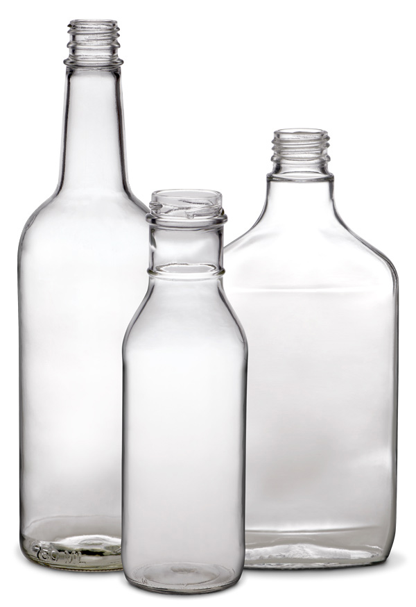 bottles clear Anchor Glass